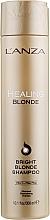 Parfüm, Parfüméria, kozmetikum Gyógyító sampon természetetes és színt vesztett hajra - L'anza Healing Blonde Bright Blonde Shampoo