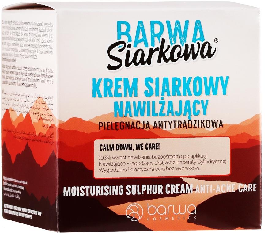 Mélyhidratáló krém - Barwa Sulphuric Cream Prolonged Moisturising