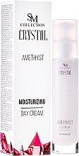 Parfüm, Parfüméria, kozmetikum Természetes ametiszt nappali krém - SM Collection Crystal Amethyst Moisturizing Day Cream