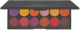 Parfüm, Parfüméria, kozmetikum Szemhéjfesték paletta - Sleek MakeUP iDivine Chasing The Sun Eyeshadow Palette
