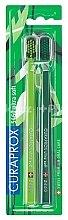 Parfüm, Parfüméria, kozmetikum Fogkefe készlet CS 5460, ultra lágy - Curaprox Ultra Soft Duo Pack Green Edition