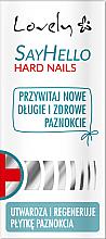 Parfüm, Parfüméria, kozmetikum Körömerősítő töredezett körömre - Lovely Say Hello Hard Nails