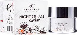 Parfüm, Parfüméria, kozmetikum Bőrtápláló arckrém ikrával - Hristina Cosmetics Orient Caviar Night Cream