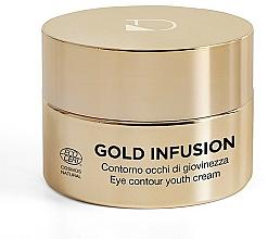 """Parfüm, Parfüméria, kozmetikum Szemkörnyék krém """"Folyékony arany"""" - Diego Dalla Palma Gold Infusion Cream"""