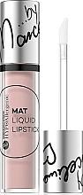 Parfüm, Parfüméria, kozmetikum Hipoallergén matt folyékony rúzs - Bell Hypoallergenic Mat Lip Liquid by Marcelina
