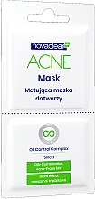 Parfüm, Parfüméria, kozmetikum Mattító arcmaszk - Novaclear Acne Mask Oil Control Complex