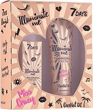 Parfüm, Parfüméria, kozmetikum Szett - 7 Days Illuminate Me Miss Crazy №2 (b/milk/150ml + fluid/50ml)