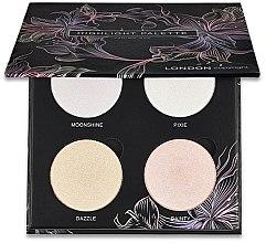 Parfüm, Parfüméria, kozmetikum Highlighter paletta - London Copyright Magnetic Face Powder Highlight Palette