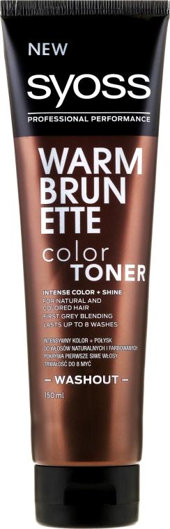 Hajszínező krém - Syoss Color Toner