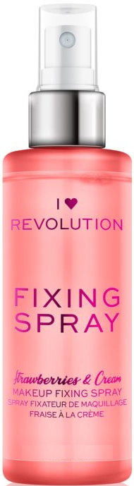 Sminkfixáló spray - I Heart Revolution Fixing Spray Strawberries & Cream