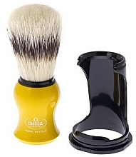 Parfüm, Parfüméria, kozmetikum Borotvapamacs 80265 alátéttel, sárga - Omega