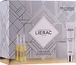 Parfüm, Parfüméria, kozmetikum Készlet - Lierac Cica-Filler (serum/30ml + cr/40ml + bag)