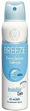 Parfüm, Parfüméria, kozmetikum Breeze Deo Freschezza Talcata - Testdezodor