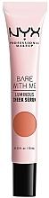 Parfüm, Parfüméria, kozmetikum Ragyogó szérum arccsontra - NYX Professional Makeup Bare With Me Shroombiotic Cheek Serum
