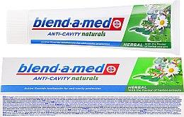 Parfüm, Parfüméria, kozmetikum Fogkrém - Blend-a-med Anti-Cavity Herbal Natural
