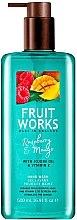 """Parfüm, Parfüméria, kozmetikum Folyékony szappan """"Málna és mangó"""" - Grace Cole Fruit Works Hand Wash Raspberry & Mango"""