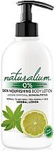 Parfüm, Parfüméria, kozmetikum Testápoló - Naturalium Herbal Lemon Lotion