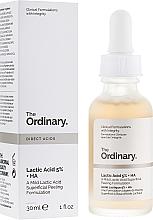 Parfüm, Parfüméria, kozmetikum Tejsav arcradír szérum - The Ordinary Lactic Acid 5% + HA 2%