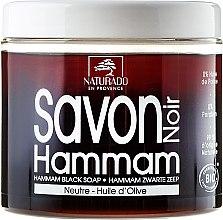 Parfüm, Parfüméria, kozmetikum Fekete szappan olívaolajjal - Naturado Black Soap Hammam With Olive Oil
