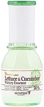 "Parfüm, Parfüméria, kozmetikum Nyugtató esszencia ""Saláta levél és uborka"" - SkinFood Premium Lettuce & Cucumber Watery Essence"