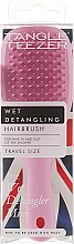 Parfüm, Parfüméria, kozmetikum Hajfésű - Tangle Teezer The Wet Detangler Mini Baby Pink Sparkle
