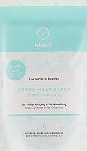 Parfüm, Parfüméria, kozmetikum Hámlasztó hajmaszk, tisztító - Khadi Detox Hair Mask