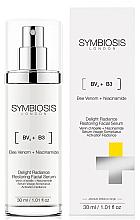 Parfüm, Parfüméria, kozmetikum Helyreállító szérum arc ragyogásáért - Symbiosis London Delight Radiance Restoring Facial Serum