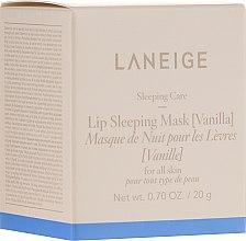 """Parfüm, Parfüméria, kozmetikum Regeneráló éjszakai ajakmaszk """"Vanília"""" - Laneige Sleeping Care Lip Sleeping Mask Vanilla"""