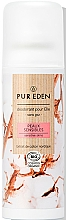 """Parfüm, Parfüméria, kozmetikum Dezodor """"Érzékeny bőr"""" - Pur Eden Sensitive Skin Deodorant"""