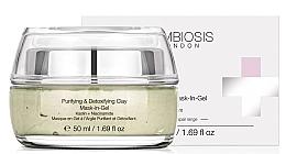 Parfüm, Parfüméria, kozmetikum Tisztító és detoxikáló maszk-gél agyaggal - Symbiosis London Purifying & Detoxifying Clay Mask-In-Gel