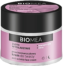Parfüm, Parfüméria, kozmetikum Ránctalanító arckrém - Farmona Biomea Anti-wrinkle Face Cream