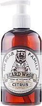 Parfüm, Parfüméria, kozmetikum Sampon szakállra - Mr. Bear Family Beard Wash Citrus