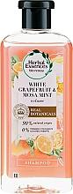 Parfüm, Parfüméria, kozmetikum Dúsító sampon - Herbal Essences White Grapefruit & Mosa Mint Shampoo