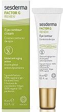 Parfüm, Parfüméria, kozmetikum Szemkörnyékápoló krém - SesDerma Laboratories Factor G Renew Eye Contour