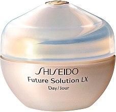 Parfüm, Parfüméria, kozmetikum Nappali arcvédő krém, teljes regeneráció - Shiseido Future Solution LX Daytime Protective Cream SPF15