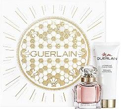 Parfüm, Parfüméria, kozmetikum Guerlain Mon Guerlain - Szett (edp/30ml + b/lot/75ml)