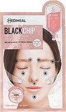 "Parfüm, Parfüméria, kozmetikum Szövetmaszk ""Fekete chip"" - Mediheal Black Chip Circle Point Mask"