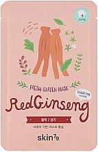 """Parfüm, Parfüméria, kozmetikum Szövetmaszk """"Piros ginzeng"""" - Skin79 Fresh Garden Red Ginseng Mask"""