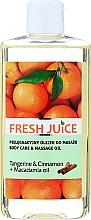 """Parfüm, Parfüméria, kozmetikum Testápoló és masszázsolaj """"Mandarin és fahéj + makadámia olaj"""" - Fresh Juice Energy Tangerine&Cinnamon+Macadamia Oil"""