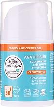 Parfüm, Parfüméria, kozmetikum Napvédő krém csiganyállal - Mlle Agathe Sun SPF 50+