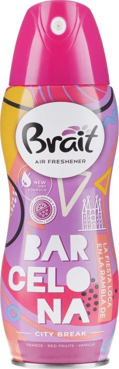 "Légfrissítő ""City Break -Barcelona"" - Brait Dry Air"