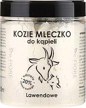 "Parfüm, Parfüméria, kozmetikum Kecske fürdőtej ""Levendula"" - E-Fiore Lavender Bath Milk"