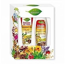 Parfüm, Parfüméria, kozmetikum Szett - Bione Cosmetics Argan Oil (h/balm/200ml + b/lot/500ml)