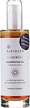Parfüm, Parfüméria, kozmetikum Testápoló olaj - Naturativ Glittering Body Oil