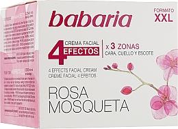 """Parfüm, Parfüméria, kozmetikum Fiatalító arc- és nyak krém """"4 hatás"""" - Babaria Rosa Mosqueta 4 Effects Facial Cream"""