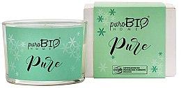 Parfüm, Parfüméria, kozmetikum Natúr gyertya - PuroBio Home Organic Pure