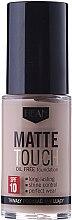 Parfüm, Parfüméria, kozmetikum Mattító alapozó - Hean Matte Touch Oil Free SPF10