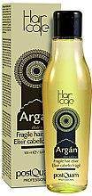 Parfüm, Parfüméria, kozmetikum Elixir vékony hajra argánolajjal - PostQuam Argan Fragile Hair Elixir