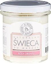 """Parfüm, Parfüméria, kozmetikum Masszázs aromagyertya """"Keleti rózsa"""" - E-Fiore Massage Candle"""