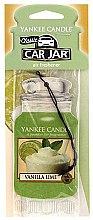 Parfüm, Parfüméria, kozmetikum Autóillatosító - Yankee Candle Car Jar Vanilla Lime